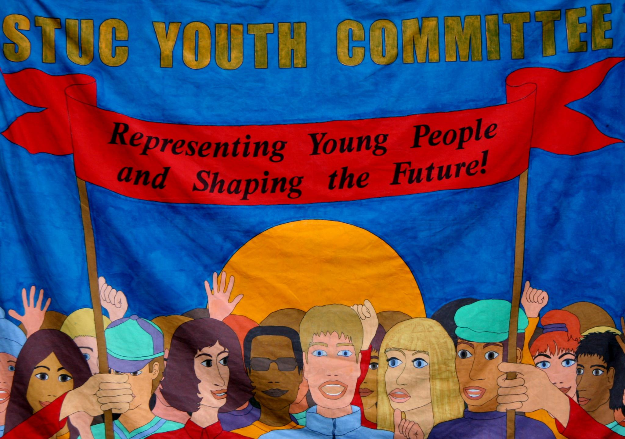 Youth committee banner
