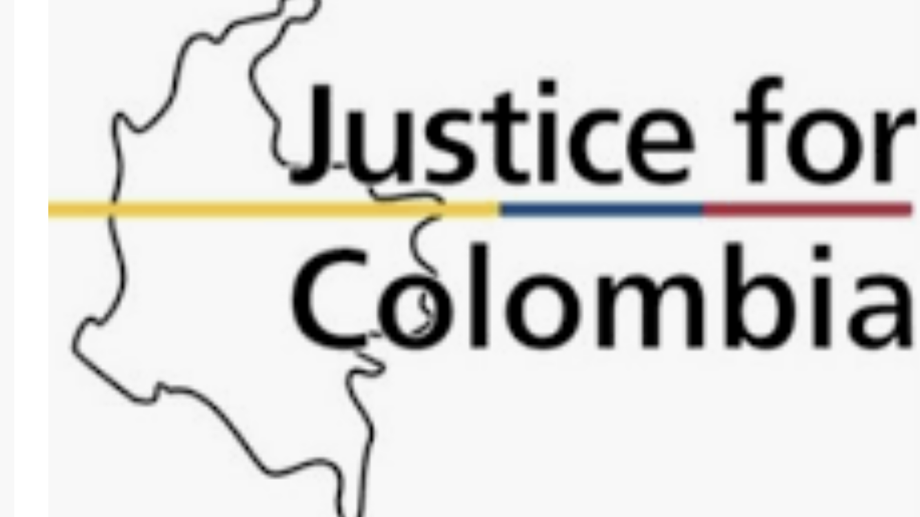 Justice for Colombia logo