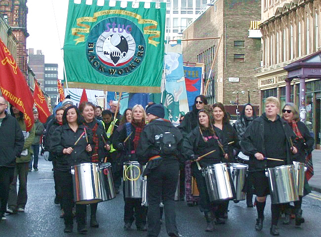 St Andrews Day March and Rally 2015