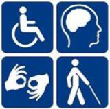 Disabled workers logo