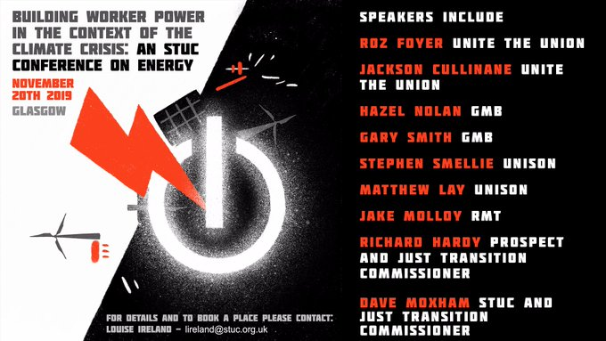 Energy conference graphic