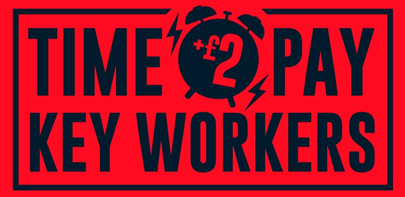 Time to pay key workers