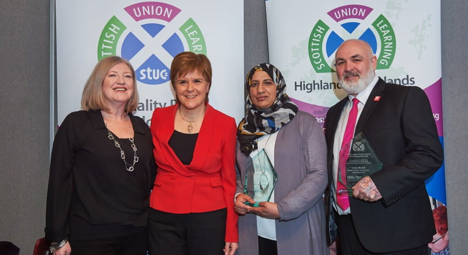 Union Leanring Awards Picture