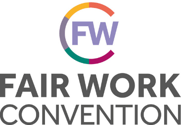Fair work convention logo